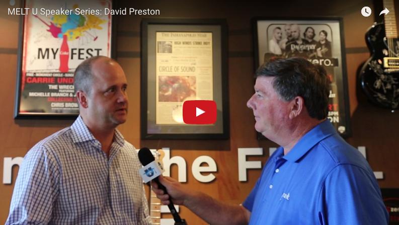 MELT U Speaker Series: David Preston