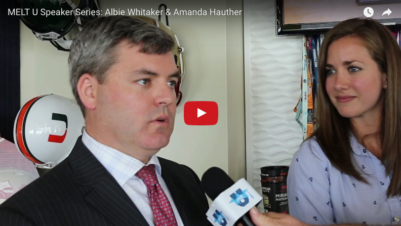 MELT U Speaker Series: Albie Whitaker & Amanda Hauther
