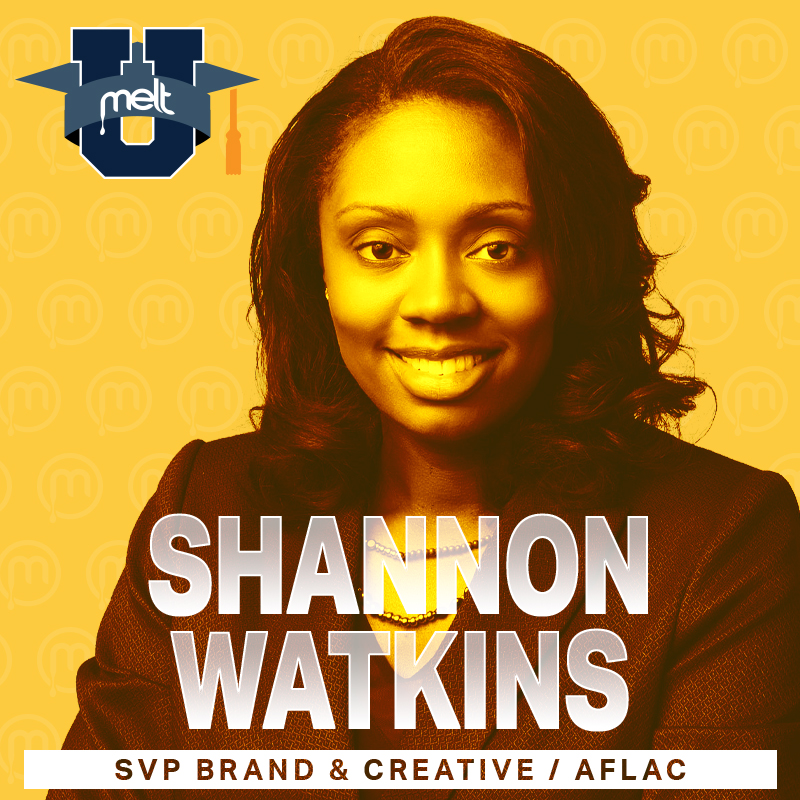 Episode 28: Shannon Watkins SVP of Brand & Creative Services at Aflac