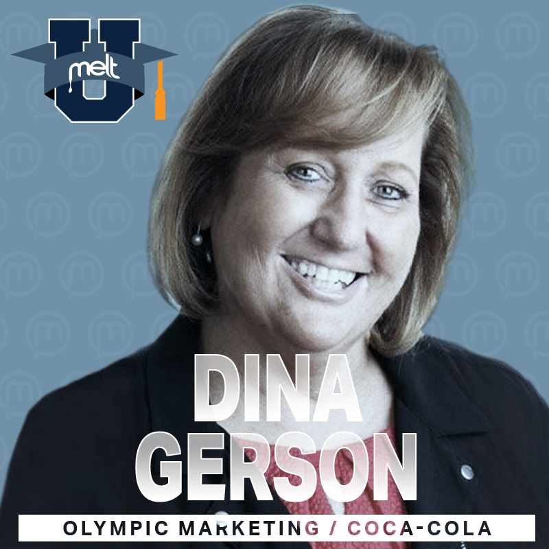 Episode 37: Dina Gerson Director of Olympic Marketing for the North American Division at The Coca-Cola Company