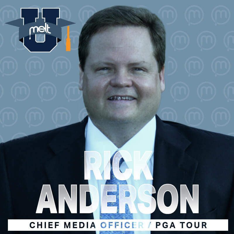 Episode 33: Rick Anderson Chief Media Officer of the PGA TOUR
