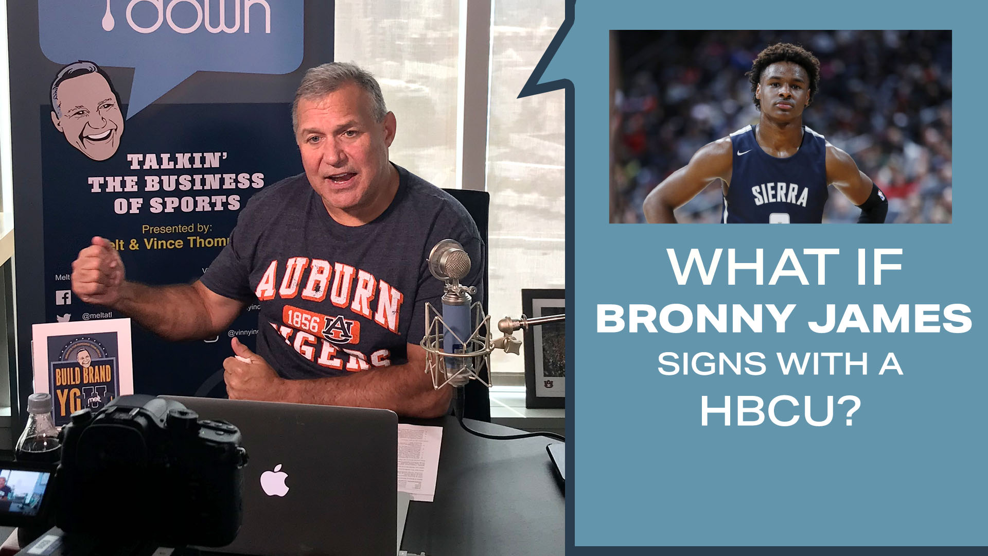 MELT Releases New MeltDown Videocast: What If Bronny James Decides to Sign with and HBCU School?