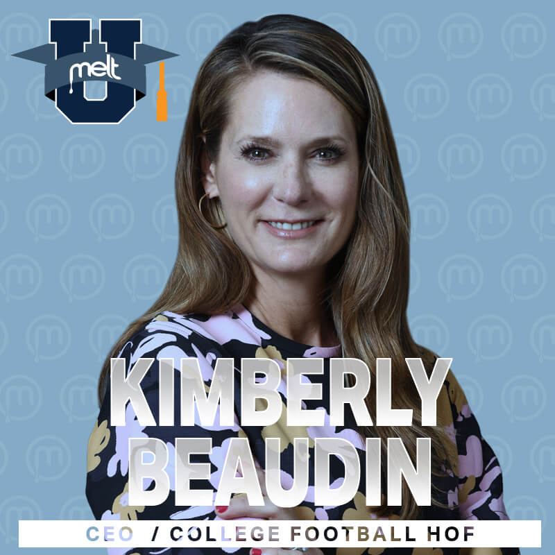 Episode 55: Kimberly Beaudin Chief Executive Officer of the College Football Hall of Fame